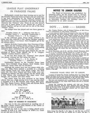 Newlsetter June 63 vol 2 num 60002