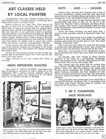 Newlsetter May 63 vol 2 num 5 page 40001