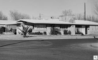 Vintage Mid Century Modern Homes - Las Vegas 1960
