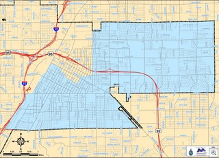 Las Vegas City Council Ward 3 map