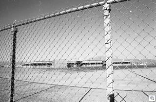 Mid Century Modern School - under construction - in Vintage Las Vegas