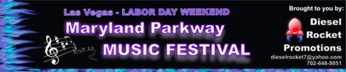 Maryland Parkway Music Festival -