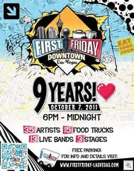 First Friday Anniversary Brochure