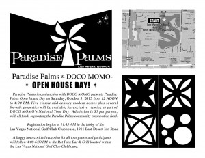 Paradise Palms 2013 Open house and Tour